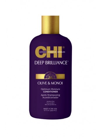 CHI Deep Brilliance Optimum Moisture Conditioner: monoi-õliga taastav palsam
