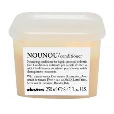 Davines NOUNOU Conditioner: parabeenivaba palsam kahjustatud juustele
