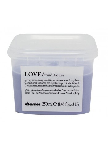 Davines LOVE Smoothing Conditioner: silendav palsam tõrksatele juustele