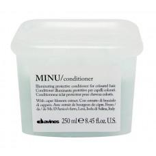 Davines MINU Conditioner: palsam värvitud juustele