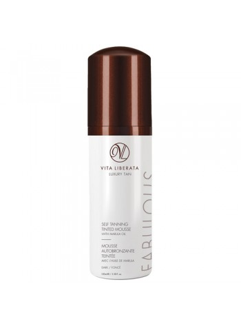 Vita Liberata Fabulous Self Tanning Tinted Mousse: isepruunistav vaht (medium/dark)