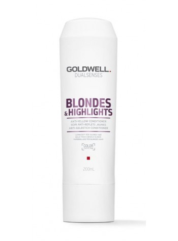 Goldwell DualSenses Blondes & Highlights Conditioner: kollasust vähendav palsam