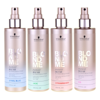 Schwarzkopf Blond Me Instant Blush Blonde Beautifier: pastelne värvisprei (värvivalik, 4 tk)
