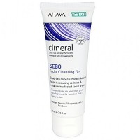 Ahava CLINERAL SEBO Facial Cleansing Gel: näopuhastusgeel seborroilisele nahale