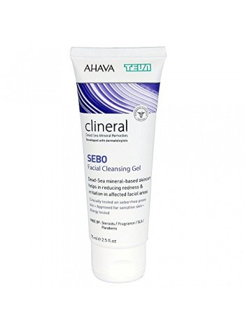 CLINERAL SEBO Facial Cleansing Gel: näopuhastusgeel seborroilisele nahale