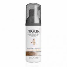 Nioxin System 4 Scalp Treatment: märgatavalt hõrenevatele peenikestele/keemiliselt töödeldud juustele