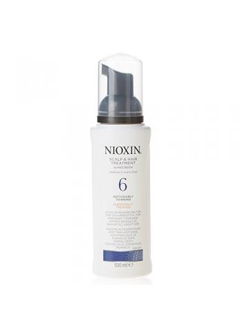 Nioxin System 6 Scalp Treatment: märgatavalt hõrenevatele peenikestele/keemiliselt töödeldud juustele