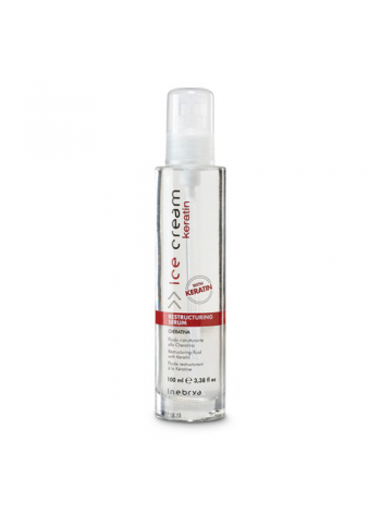 Inebrya Ice Cream Keratin Restructing Serum: taastav seerum keratiiniga