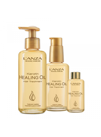 Lanza Keratin Healing Oil Hair Treatment: intensiivhooldusseerum keratiiniga