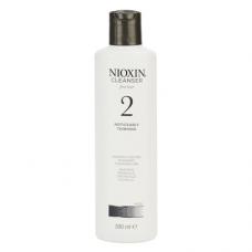 Nioxin System 2 Cleanser: šampoon märgatavalt hõrenevatele peenikestele ja naturaalsetele juustele