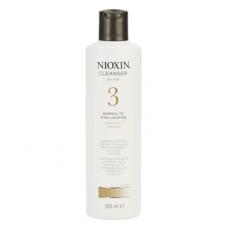 Nioxin System 3 Cleanser: šampoon hõredatena näivatele peenikestele juustele
