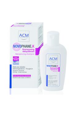 Novophane.K Rebalancing Shampoo: šampoon raskekujulise kõõma ja peanaha ärrituse puhul