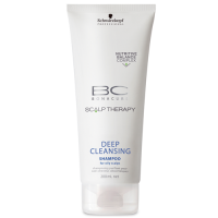 Schwarzkopf Scalp Therapy Deep Cleansing: sügavpuhastav šampoon rasusele peanahale