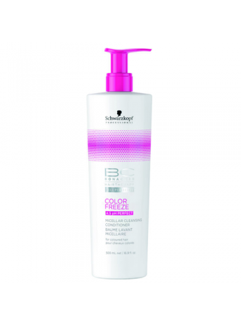 Schwarzkopf BC Color Freeze Micellar Cleansing Conditioner: puhastuspalsam värvitud juustele