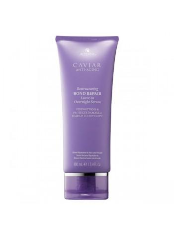 Alterna Caviar Anti-Aging Overnight Hair Rescue: öine tugevalt taastav hooldusmask