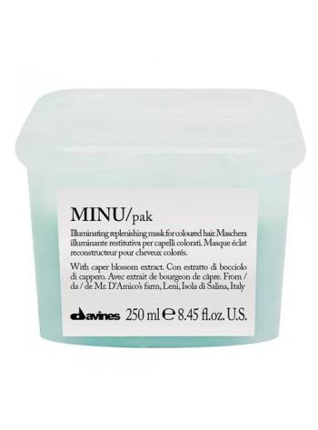 Davines MINU Hair Mask: kaitsev juuksemask