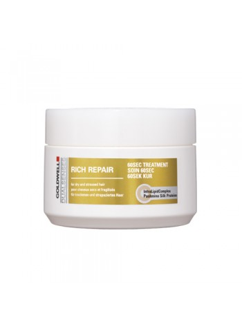 Goldwell DualSenses Rich Repair 60sec Treatment: taastav 60 sekundi juuksemask