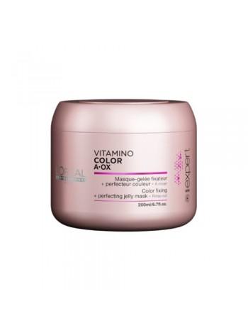 L'oréal Professionnel Vitamino Color A-Ox Masque: taastav želeemask värvitud juustele