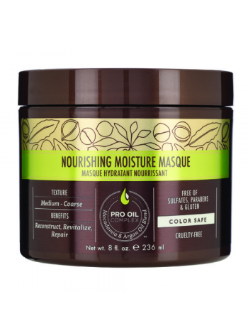 Macadamia Professional Nourishing Moisture Masque: parabeenivaba taastav juuksemask