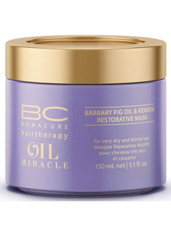 Schwarzkopf BC Oil Miracle Barbary Fig Oil Restorative Mask: taastav ja niisutav juuksemask