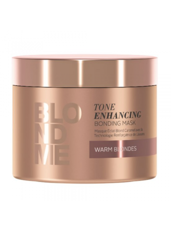 Schwarzkopf Blond Me Tone Enhancing Bonding Mask Warm Blondes: tooni tugevdav süvahooldus soojadele blondidele juustele