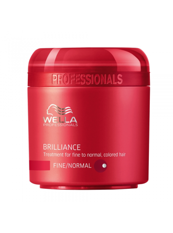 Wella Care Brilliance Treatment Fine/Normal: pehmendav mask peenikestele/normaalsetele juustele