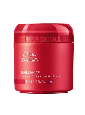 Wella Care Brilliance Treatment Fine/Normal: pehmendav mask peenikestele/normaalsetele juustele