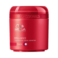 Wella Care Brilliance Treatment Thick: pehmendav mask tugevatele juustele