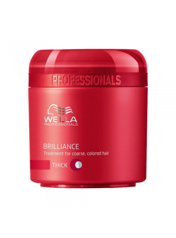 Wella Care Brilliance Treatment Thick: pehmendav juuksemask tugevatele juustele