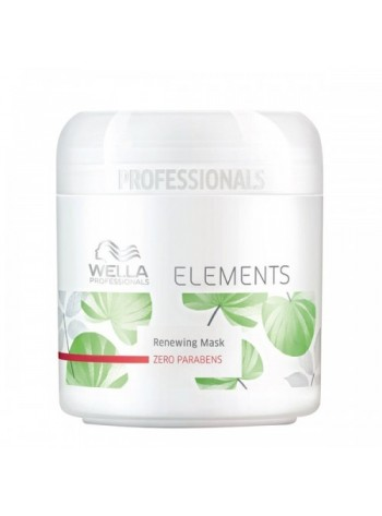 Wella Elements Renewing Mask: taastav ja kaitsev juuksemask