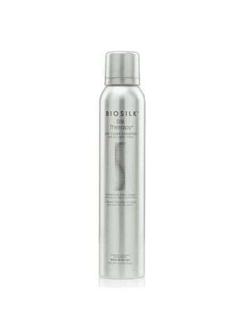 Biosilk Silk Therapy Dry Clean Shampoo: siidiga kuivšampoon