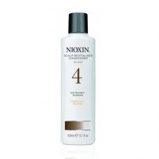 Nioxin System 4 Scalp Revitalizer: palsam märgatavalt hõrenevatele ja keemiliselt töödeldud juustele (300/1000 ml)