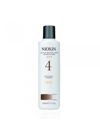 Nioxin System 4 Scalp Revitalizer: palsam märgatavalt hõrenevatele ja keemiliselt töödeldud juustele