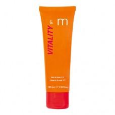 Matis Vitality Clean & Scrub 7/7: naha tekstuuri parandav koorija