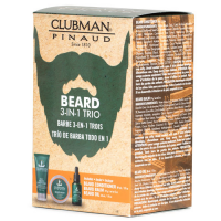 Clubman Beard 3-in-1 Trio: habemehoolduskomplekt