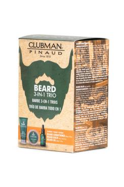 Clubman Beard 3-in-1 Trio: habemehoolduskomplekt