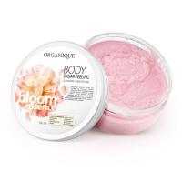 Organique Bloom Sugar Peeling: toitev suhkrukoorija lillearoomiga