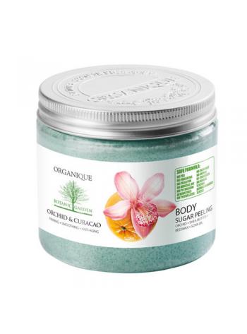 Organique Orchid & Curacao Sugar Peeling: shea-võiga suhkrukoorija