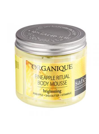 Organique Fruit Rituals Body Mousse: vahuse tekstuuriga kehakreem (valik aroome)