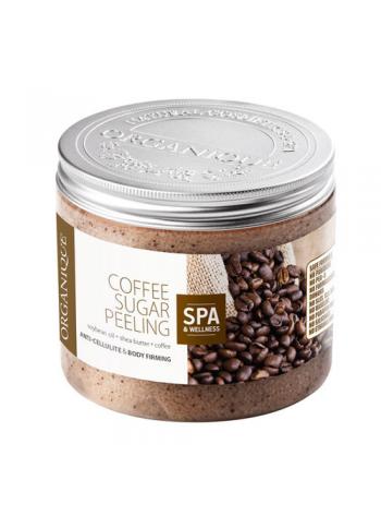 Organique Coffee Sugar Peeling: keharasvade põletamist stimuleeriv suhkrukoorija