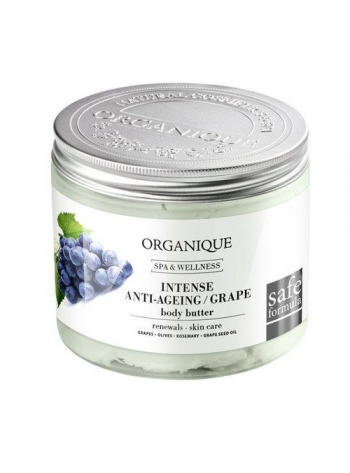 Organique Grape Body Butter: vananemisvastase toimega kehavõie