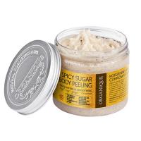 Organique Spicy Sugar Body Peeling: vürtsikas õrnatoimeline suhkrukoorija