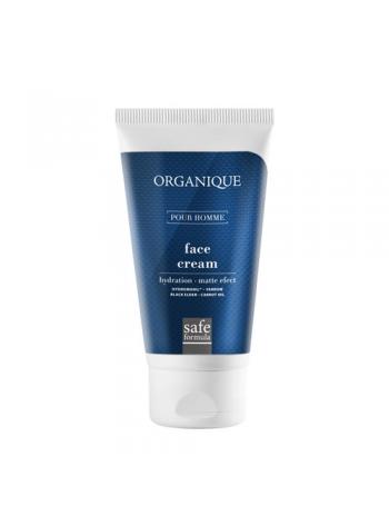 Organique Homme Face Cream: matistav allergeenidevaba näokreem