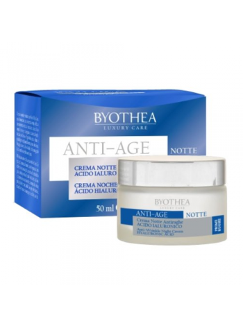 Byothea Anti-Wrinkle Night Cream: täitva efektiga vananemisvastane öökreem, 30+
