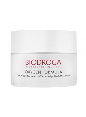 Biodroga Oxygen Formula Eye Care: silmaümbruskreem kuivale nahale