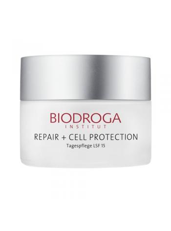 Biodroga Repair+ Cell Protection Day Care: päevakreem valguskahjustatud nahale, SPF 15