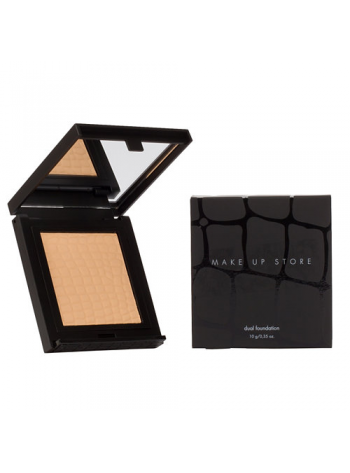 Make Up Store Dual Foundation: kreemine niisutav puuder (värvivalik)