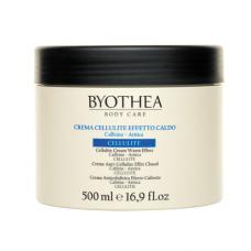 Byothea Cellulite Cream Warm Effect: tselluliidivastane kreem soojusefektiga, 500 ml