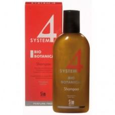 Sim Bio Botanical Shampoo: juuste kasvu stimuleeriv & väljalangemist ennetav