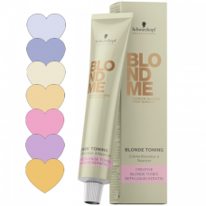 BlondMe Blonde Toning: toonimisvärvid, värvivalik